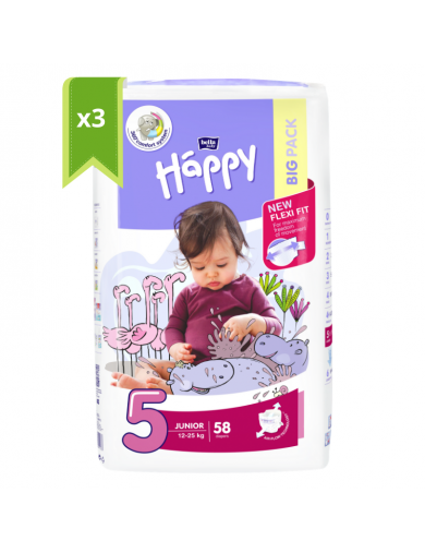T5 Bella happy couche sachet de 174 couches